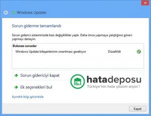 Windows Güncelleme Sorunu