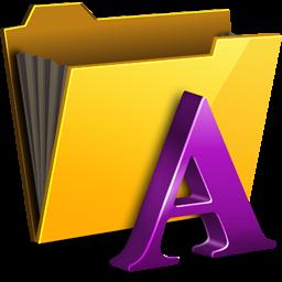 Folder My Font