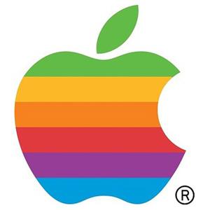 apple-rainbow-logo