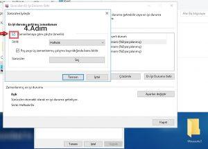 Bu seçenek zamansız disk kullanımına neden olur